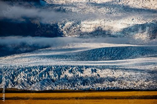 ghiacciaio e laguna di ghiaccio fjallsarlon skaftafell - 232617417
