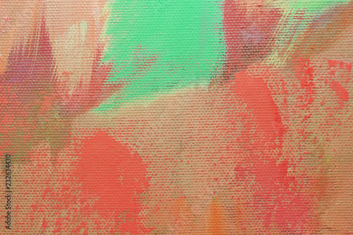 Artists oil paints multicolored closeup abstract background © Stanislaw Mikulski