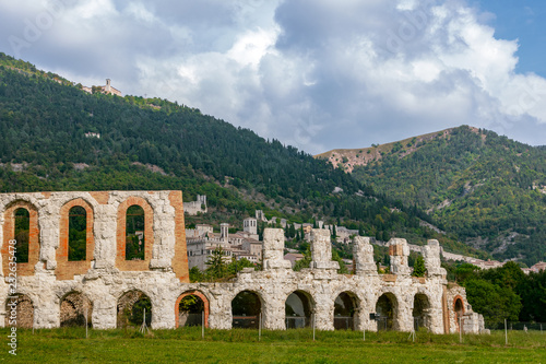 Foto Murales Roman Theatre