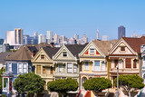 Victorian style homes in San Francisco - 232674495