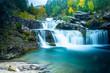 Cascadas bonitas en Ordesa huesca en otoño - 232681470