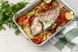 Roasted fish ready to roast - 232689693