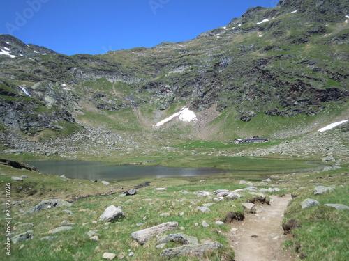 Wanderung zur Spronser Seenplatte in Südtirol bei Meran © Buesi
