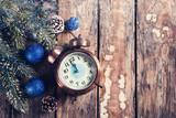 alarm clock five minute to twelve - 232707276