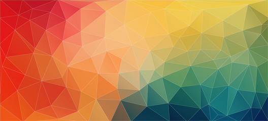Modern Flat triangle Background of geometric shapes.