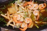 Shrimp with curry Thai called Gang-Som - 232733086