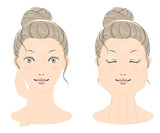 若い女性の美容イメージ02 - 232739252