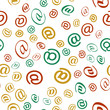 e-mail letter Seamless vector EPS 10 Pattern