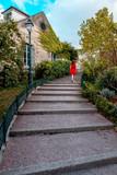 stairs behind Montmartre