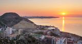 Spain, Alicante city at sunset - 232772491