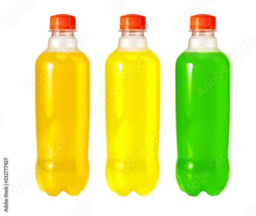 Leinwandbild Motiv energy drink in bottle
