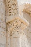 Detailansicht der Kathedrale San Nicola Pellegrino in Trani; Apulien; Italien - 232784202
