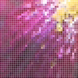 abstract vector square pixel mosaic background - 232796255