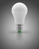 LED light bulb on an isolated background - 232798630