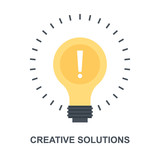Creative Solutions icon concept - 232856465
