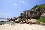 Beautiful beach La Digue, Seychelles - 232868811