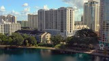Aerial video Orlando Lake Eola Heights - 232875493