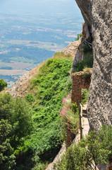 Mountain Montserrat in Spain