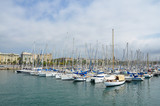 Yachts in port of Barcelona - 232877612
