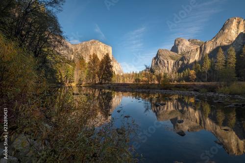 Valley View i Merced River, Yosemite