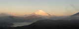 panorama of Mountain Fuji winter in morning