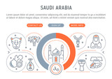 Vector Illustration of Saudi Arabia. - 232916616