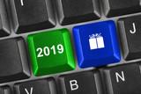 Computer keyboard with 2019 keys - 232921231
