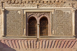 Detail of the Wine Gate at Alhambra in Granada, Spain - 232935836