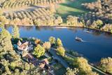 gabarre sur la Dordogne - 232944822