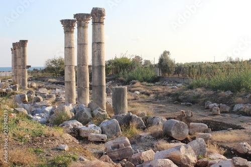 Soli Pompeiopolis Ancient City in Mersin İn Turkey