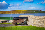Cannon at Fort Charlotte in the centre of Lerwick