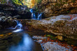 Puente Ra Falls, Sierra Cebollera Natural Park, La Rioja, Spain - 233000693
