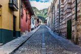 colorful Streets  in La Candelaria aera Bogota capital city of Colombia South America - 233006452