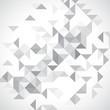 Monochrome low poly background