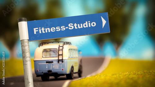 Schild 366 - Fitness-Studio