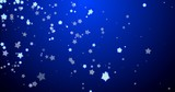 Blue christmas background with snowflakes. - 233032064