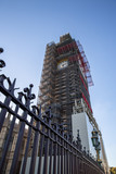 London, Big Ben monument undergoing renovation