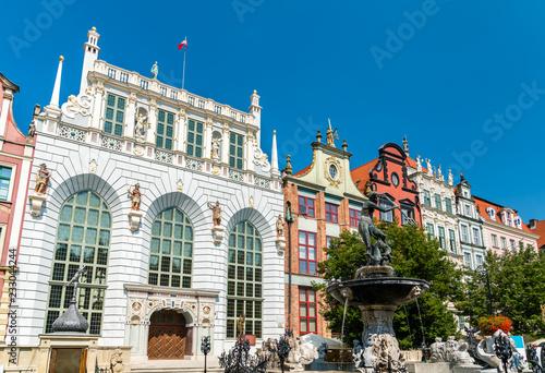 fototapeta na ścianę Buildings in the historic centre of Gdansk, Poland