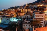 night view Taxco city , Mexico - 233076606