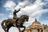 Bellas Artes (Palace of fine art) in Mexico City