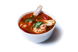 soup tom yum with shrimps - 233095689