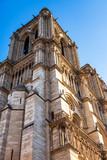 PARIS, FRANCE, on OCTOBER 26, 2018. Architectural details of Notre Dame de Paris - 233164499