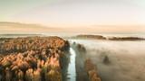 Wschód Słońca w Przemkowski Parku Krajobrazowym - 233170624