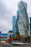 Moscow, Russia - November, 10, 2018: Skyscrapers of Moscow city