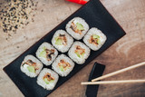 sushi on plate © Никита Томилов