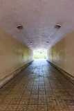 underground pedestrian tunnel - 233177423