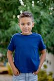 Adorable latin child in the garden - 233190667