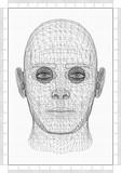 Man Head Architect Blueprint  - 233218643