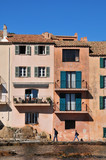 Saint Tropez; France - april 18 2016 : picturesque old city in spring - 233248011