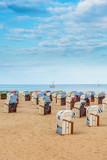 Travemunde seaside resort, northern Germany. - 233264280